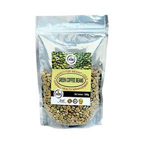 N2B A++ Grade Green Coffee Beans 500g standing pouch