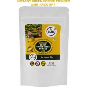 N2B Instant Green Coffee Lime 230g Pack of 1 Instant Coffee  (230 g, Green Coffee Flavored)