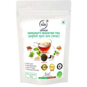 N2B Immunity Booster Green Tea (Kadha) 100g Green Tea Pouch
