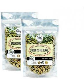 N2B A++ Green Coffee Beans- Reduce Body Fat, Weight Loss, :Enhance energy, Control diabetes and cholesterol Roast & Ground Coffee  (2 x 200 g, Green Coffee Flavoured)