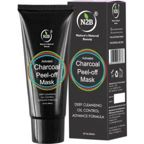 N2B Charcoal Peel Off Mask 60ml  (60 ml)