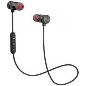 N2B SMART-MAGNETIC Bluetooth Headset  (Black, In the Ear)