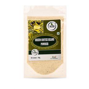 N2B Green Coffee Powder 100g Standing Pouch