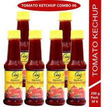 N2B Tomato Ketchup 1200g (Pack of 6, 200g each) Ketchup  (1200 g)