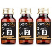 N2B Beard Growth Oil 60 ml Advance Formula Pack of 3 Hair Oil  (180 ml)