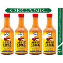 N2B Apple Cider Vinegar with Mother of Vinegar for Weight Loss 500 ml (Pack of 4) Vinegar  (2000 ml, Pack of 4)