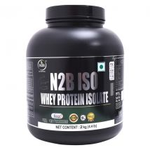 N2B Protein Supplement Powder (ISO 100: Chocolate, 2 KG / 4.4 lb)