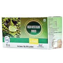 N2B Green Coffee Powder 3gX30 sachets box - Lime